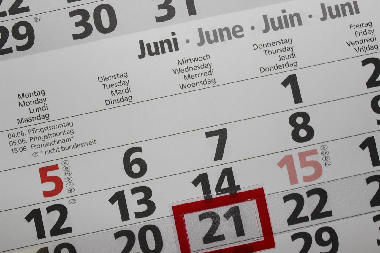 イベントカレンダーについて