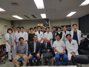 2018年1月25日に行われた大阪市立大学放射線科IVRグループカンファレンスにて