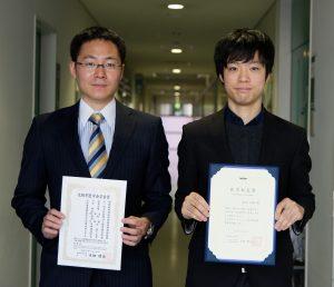 当教室より2名が大阪市立大学医学部長賞、大阪市医学会 学会賞をそれぞれ受賞しました